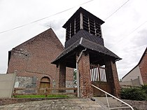 Orsinval (Nord, Fr) église St.Nicolas avec campanile.jpg