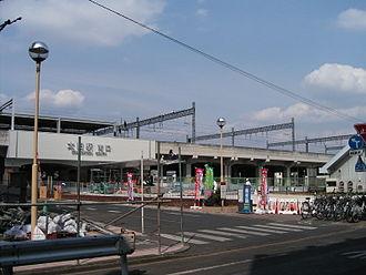 Ōta Station (Gunma) - Ōta Stationstation building