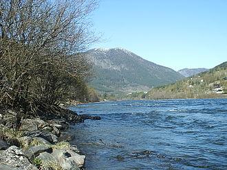 Otta (river) - Image: Ottariver II