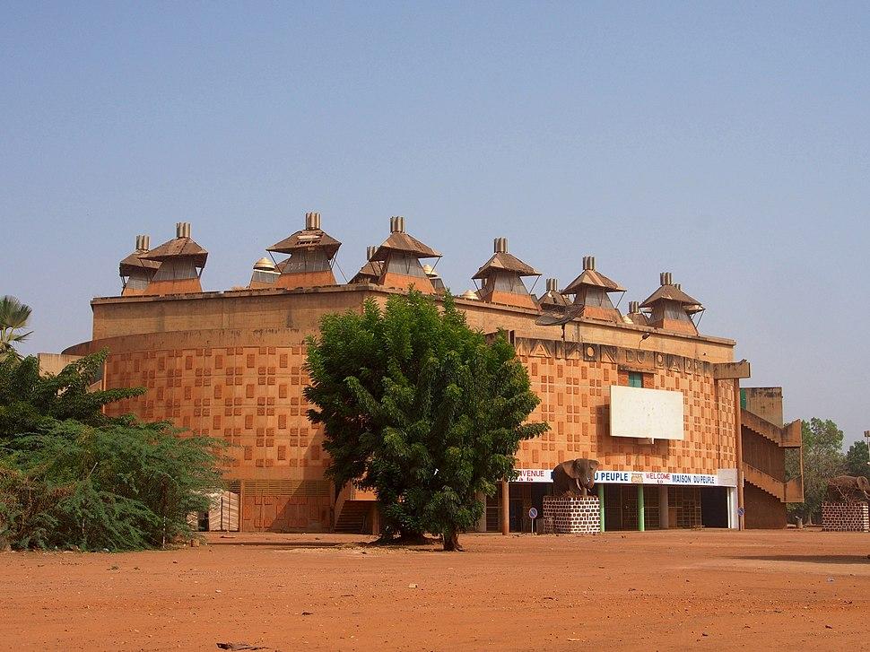Ouagadougou Maison du peuple