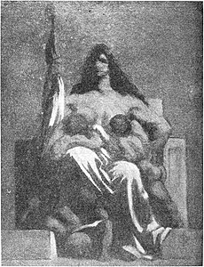 Oude Kunst vol 004 no 001 p 019 La République by Honoré Daumier.jpg