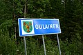 Oulainen municipal border sign 20190802.jpg