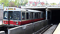 Outbound Red Line train at Ashmont, May 2008.jpg