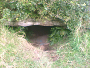 Samhain - Oweynagat ('cave of the cats'), one of the many 'gateways to the Otherworld' whence beings and spirits were said to have emerged on Samhain.