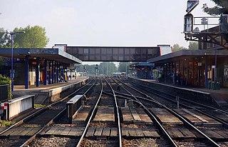 Oxford railway station Railway station in Oxfordshire, England