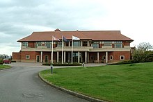 Oxfordshire Golf Club , The Clubhouse - geograph.org.uk - 160622.jpg