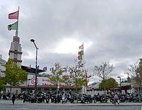 P1050990 Paris XV pte de Versailles entrée du parc des expositions rwk.JPG