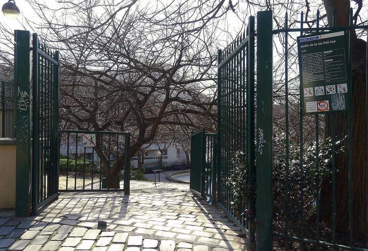 Jardin de la rue pali kao wikip dia for Jardin 122 rue des poissonniers