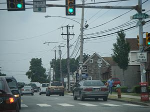 Far Northeast Philadelphia - Image: PA 532 SB past Byberry Road