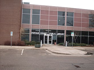 Portage County Public Library - Clark Street Entrance of Portage County Public Library Main Branch