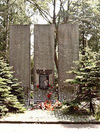 Mogiła bojowników PPS poległych 1905-1907, część komunalna
