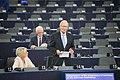 PM Jüri Ratas presenting the EU2017EE porgamme at the European Parliament IMG 9269 (35601426861).jpg