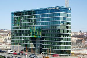Barcode Project - PriceWaterHouseCoopers Building, 2008