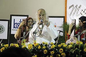 "Jasraj - Pandit Jasraj at ""Music in the Park"" Indira Gandhi Park, Bhubaneswar on 18 Dec 2016"