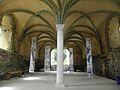 Paimpol (22) Abbaye de Beauport Salle capitulaire 10.JPG