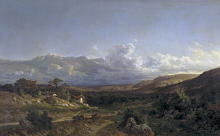 Landscape in the Dauphinoise