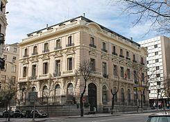 Palacio de adanero wikipedia la enciclopedia libre for Oficina de madrid santa engracia