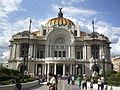 Palacio de las Bellas Artes Frente.JPG