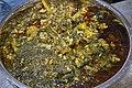Palak-Gobi Curry - Odia Hindu Wedding Ceremony - Kamakhyanagar - Dhenkanal 2018-01-24 8457.JPG