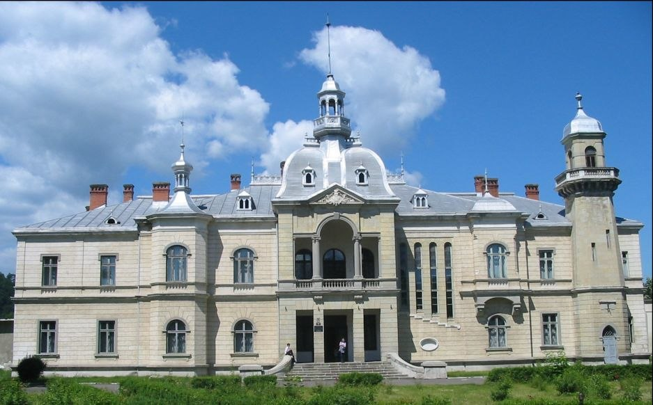 Palatul Ghica front view