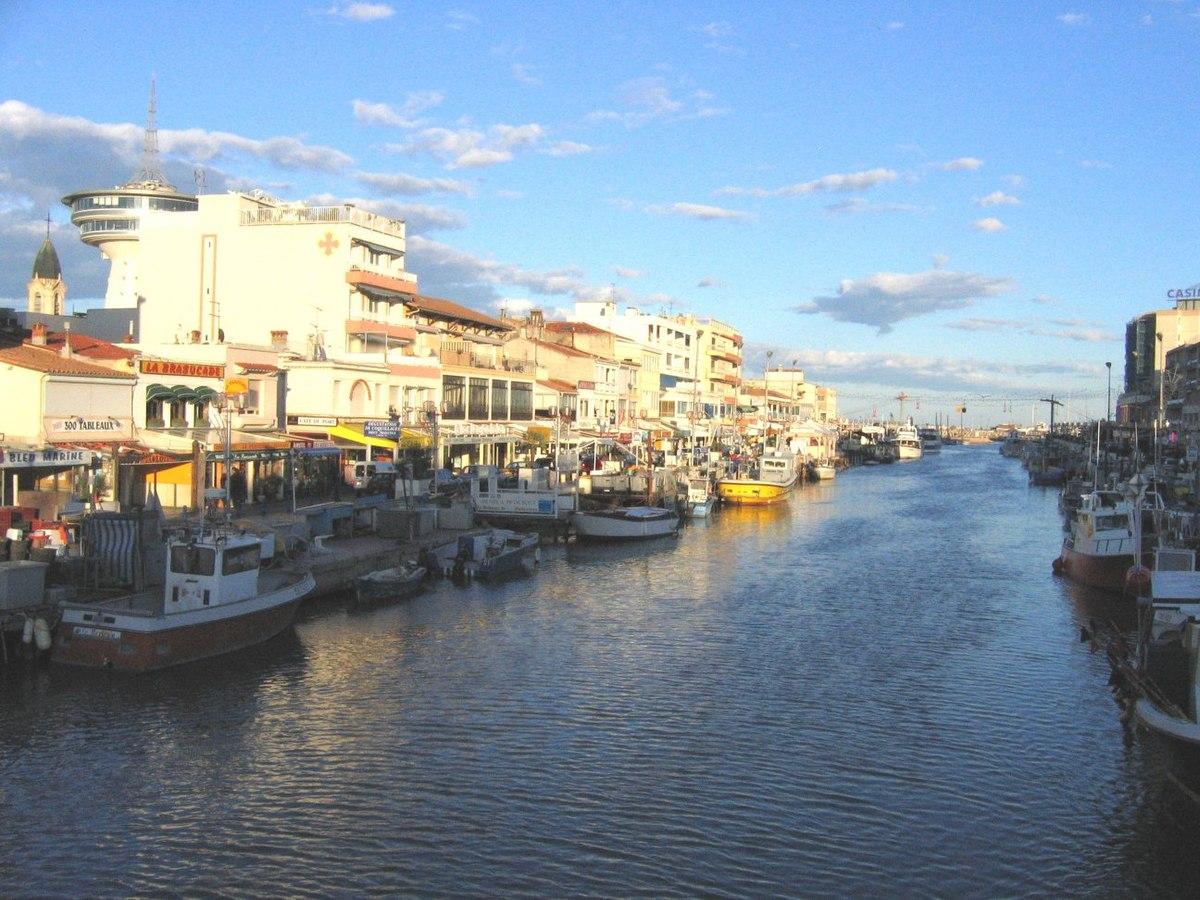 Centre Ville Palavas Les Flots