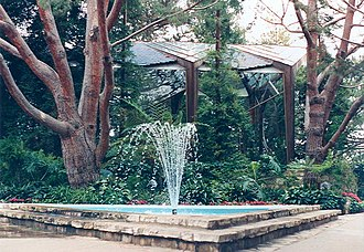 Wayfarers Chapel - Image: Palos Verdes Wayfarers Chapel 02