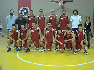 Panachaiki G.E. - Basketball team, 2011