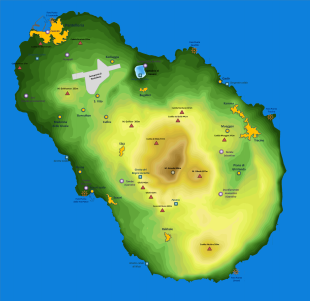Mappa di Pantelleria