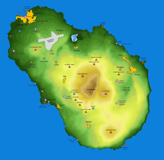Pantelleria - Map of Pantelleria