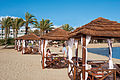 Paphos luxurious seaside hotels by evening Republic of Cyprus.jpg