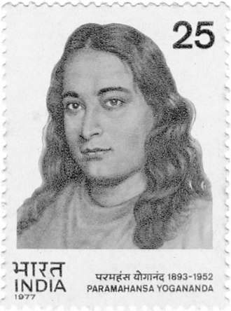 Paramahansa Yogananda - Paramahansa Yogananda on a 1977 stamp of India