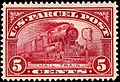 Parcel Post Mail train 5c 1913 issue.JPG