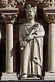 Paris - Cathédrale Notre-Dame -Galerie des rois - PA00086250 - 006.jpg