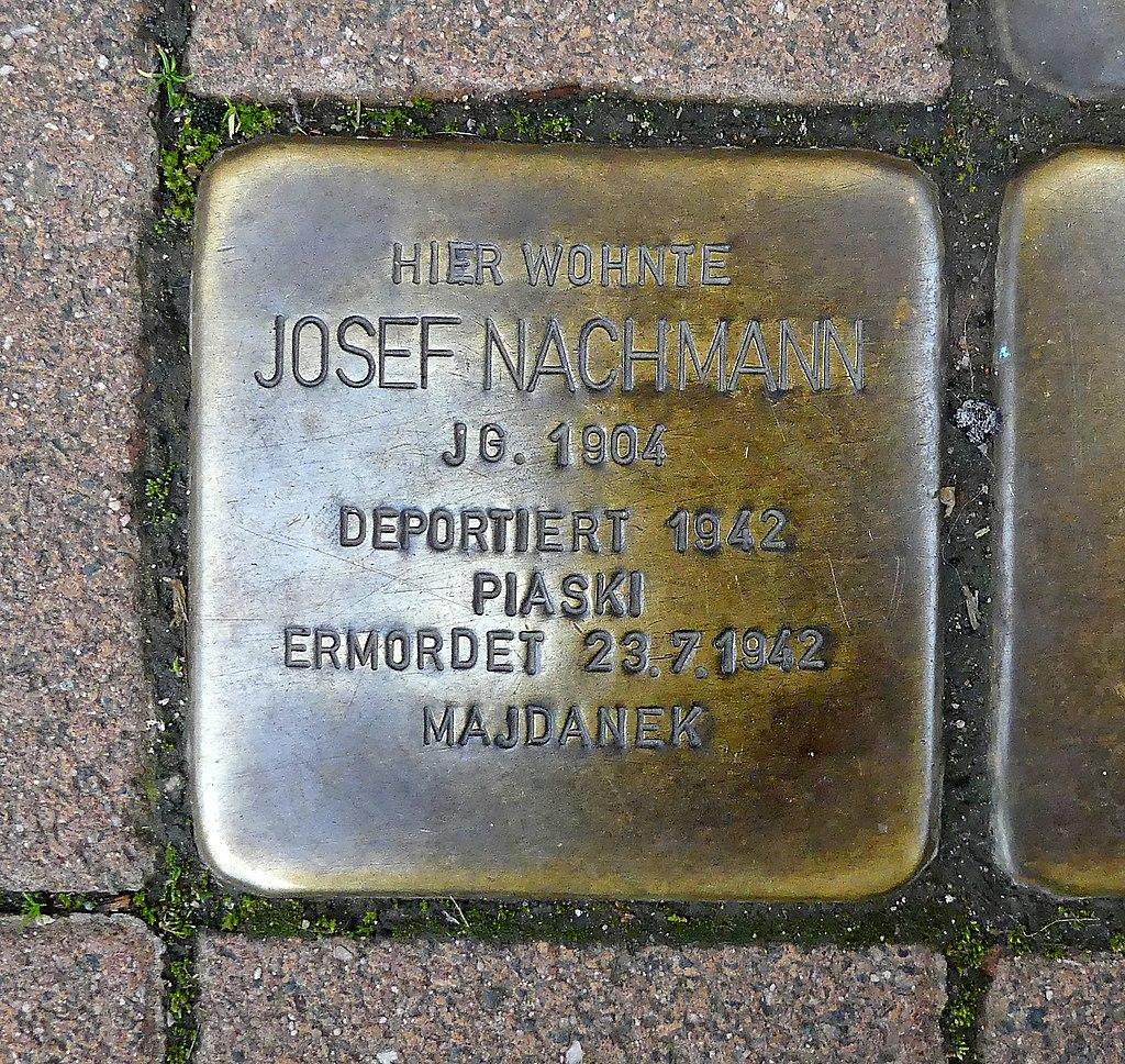 Pariser Strasse 116 - Josef Nachmann - Stolperstein Nieder-Olm.jpg