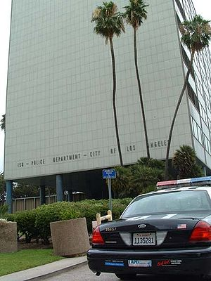 Parker Center, Headquarter of the Los Angeles ...