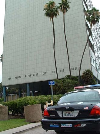 Parker Center - Parker Center, 150 N Los Angeles Street