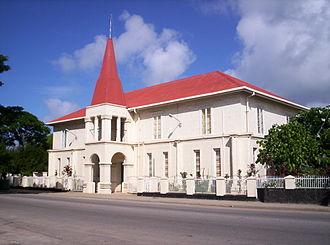 Nukuʻalofa - Prime Minister's Office
