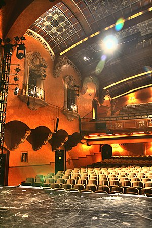 Pasadena Playhouse - A partial view of the theater auditorium