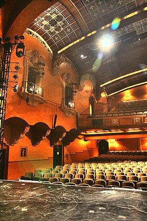 Pasadena Playhouse - A partial view of the theater auditorium