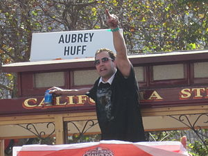 2010 San Francisco Giants season - Pat Burrell in the Giants' 2010 World Series victory parade