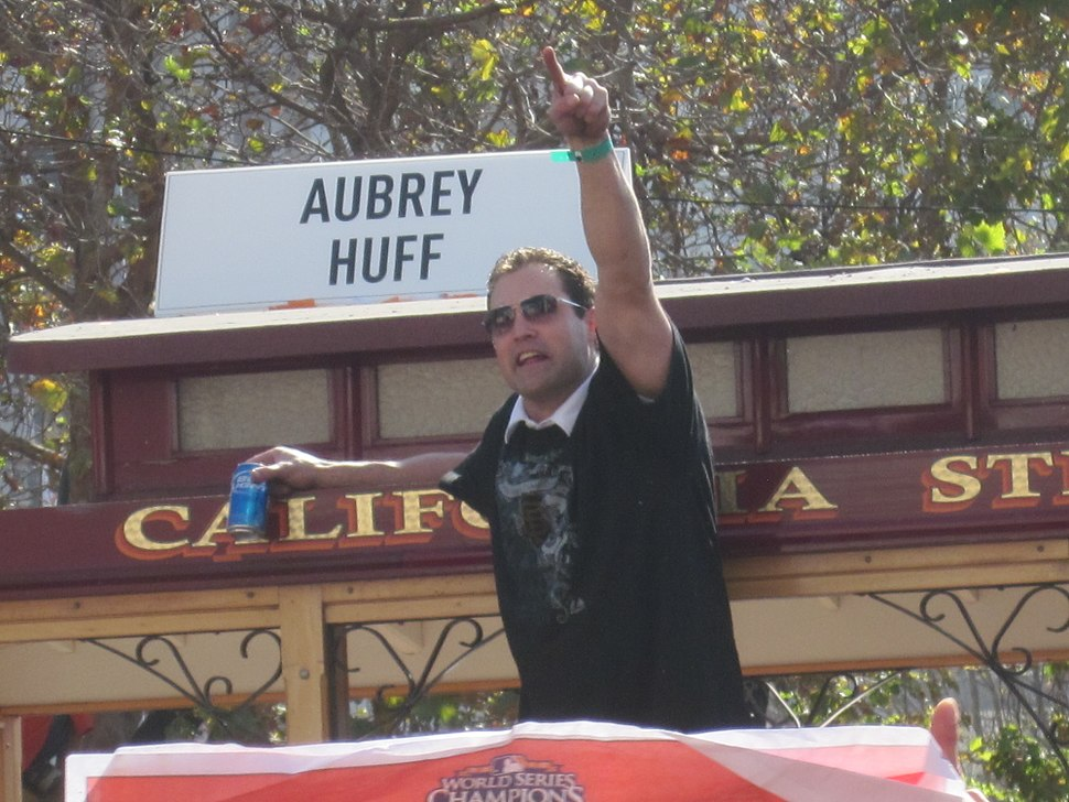 Pat Burrell at Giants 2010 World Series victory parade 2