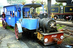Orenstein & Koppel - Steam engine manufactured for Patiala State Monorail Trainwaysat National Rail Museum, New Delhi