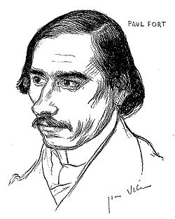 Paul Fort by Jean Veber