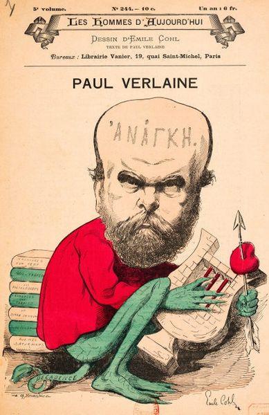 Fichier:Paul Verlaine by Emile Cohl.jpg