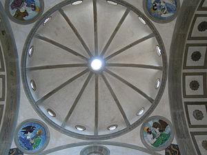 Pazzi Chapel - Pazzi Chapel Ceiling