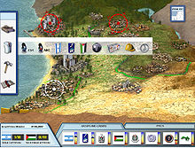 Screenshot of the main screen of PeaceMaker