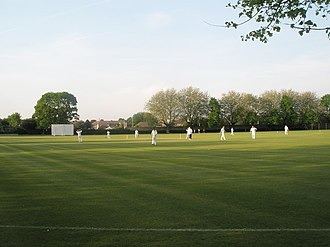 Havant - Havant Cricket Club in action at Havant Park