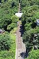 Peak tram rail tracks in Hong Kong IMG 5334.JPG