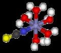 Pentaaquathiocyanatoiron(II)-3D-balls.png