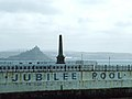 Penzance Jubilee Pool and St Michael's Mount.jpg